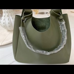 Neiman Marcus leather tote